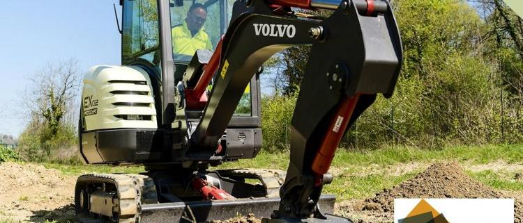 La excavadora EX2 de Volvo CE premiada por los Intermat Innovation Awards