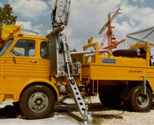 Putzmeister cumple 60 años: Innovación por tradición