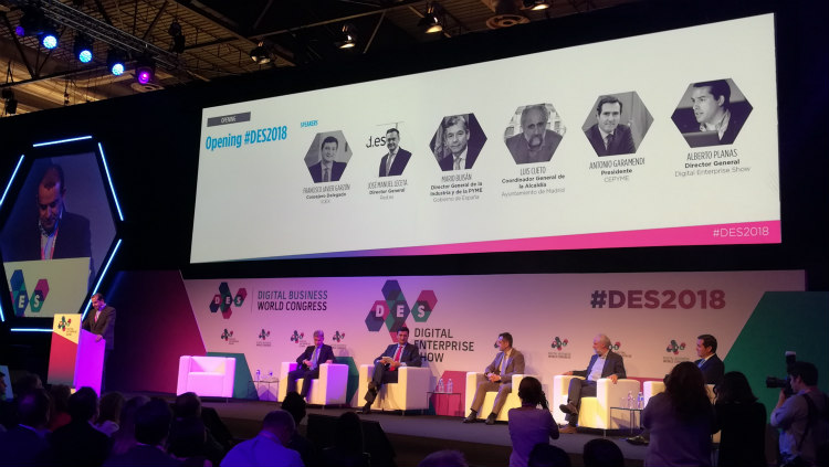 "DES – Digital Enterprise Show 2018: ""Enfrentándote a la avalancha digital"""
