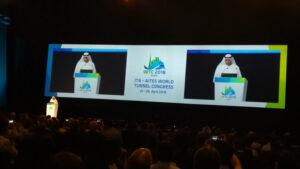 World Tunnel Congress 2018: Espacio subterráneo y desarrollo sostenible