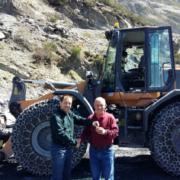 Pizarras del Carmen adquiere la cargadora de neumáticos CASE 821G