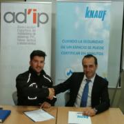 Knauf y AD´IP renuevan su acuerdo de colaboración