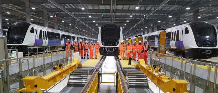Bombardier suministrará 5 trenes adicionales a la Elizabeth line de Londres
