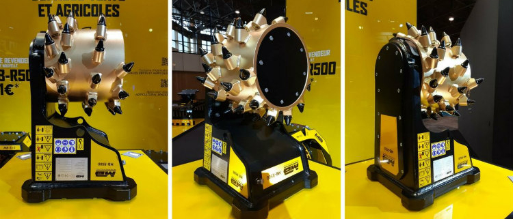 MB-R500, la fresadora multiusos de MB Crusher en Intermat