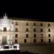 Iluminación ornamental del Monasterio de Uclés con la Gama SCULP y TerraMidi LED de Schréder