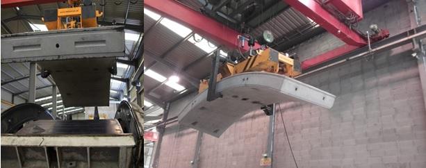 Dovelas de hormigón prefabricado para revestimiento de túneles