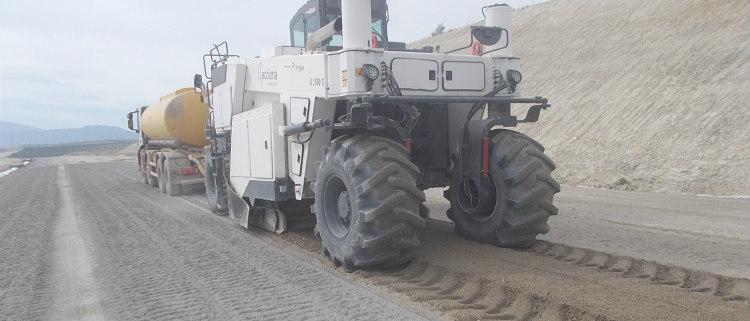 Stabile, soluciones más sostenibles para la estabilización de suelos para carreteras con conglomerantes hidráulicos