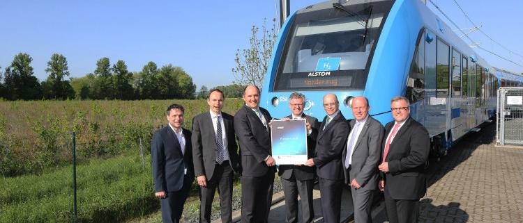 El tren Coradia iLint de Alstom gana el Premio de Movilidad GreenTec 2018