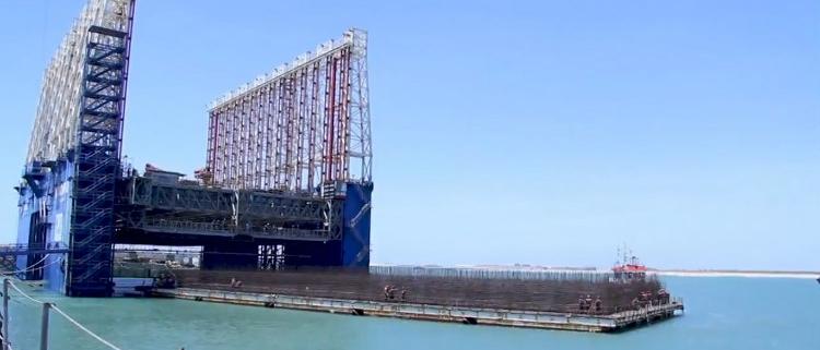 ACCIONA amplía el Muelle Adosado del Puerto de Barcelona