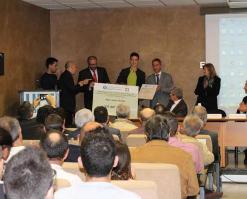 EPSEM y Mapei becan a los mejores expedientes del Grado de Ingeniería de Minas