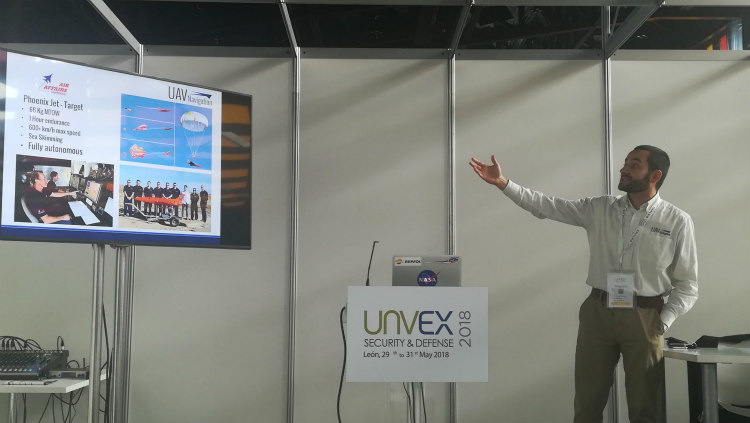 Primera jornada de UNVEX Security & Defense 2018