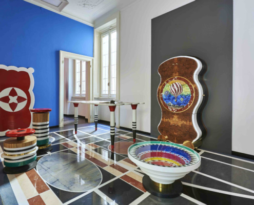 Lujo y retail en el nuevo showroom de FiPro Studio en Milán