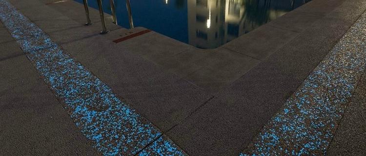 Artevia Boreal: primer pavimento de hormigón del mercado con tecnología fotoluminiscente