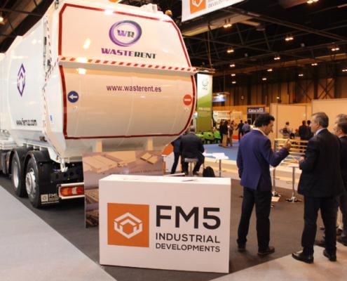 FM5 expone en TECMA 2018 su recolector de carga lateral montado sobre chasis Mercedes