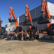 Centrocar y Doosan suministran 12 nuevos equipos a Tragsa