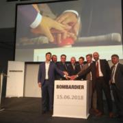 Bombardier inaugura una nueva planta de producción para Industria 4.0 en Alemania