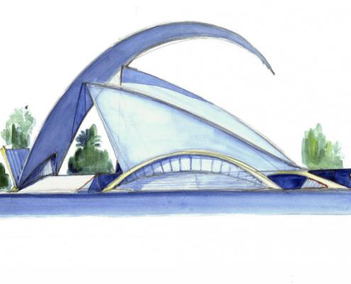 Santiago Calatrava inaugura en Praga la exposición 'Santiago Calatrava: Arte y Arquitectura'