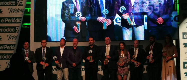 COHIDREX recibe el Premio Empresario Extremeño 2018