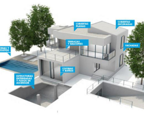 Danosa presenta su nueva gama de morteros para impermeabilización, anclajes y reparación de hormigón