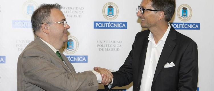 'Aula de Universidad Empresa PLACO' en la Universidad Politécnica de Madrid