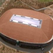 Cubierta singular de Flexbrick en el Pabellón Deportivo Campclar (Tarragona)