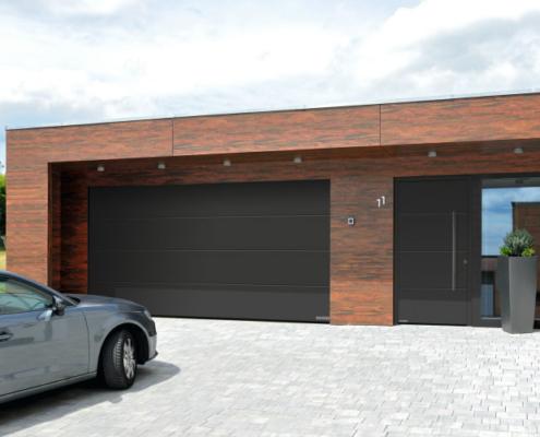 Puertas de entrada y de garaje Hörmann a juego con el estilo arquitectónico de tu hogar
