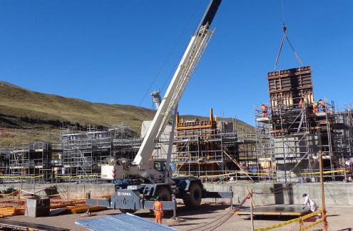 ULMA participa en el proyecto de construcción de la planta de cal Pachachaca en Perú