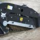 Limpiador de arena Bobcat SC200 a orillas del Duero