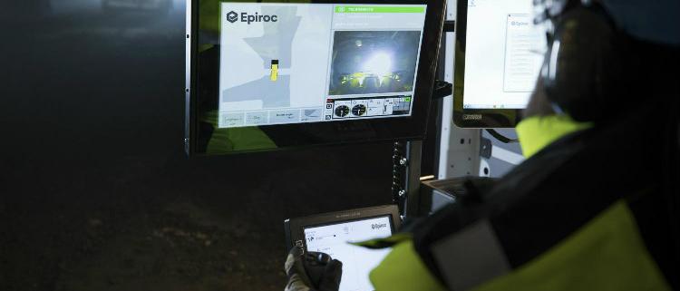 Nuevo kit de automatización en palas Epiroc
