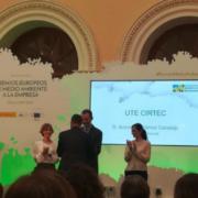 El proyecto CIRTEC logra un accésit del Premio Europeo de Medio Ambiente