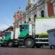 Vehículos Scania para la recogida de residuos en Valladolid