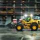 Las cargadoras de ruedas de tamaño medio de la serie H ofrecen un consumo de combustible un 20% más eficiente