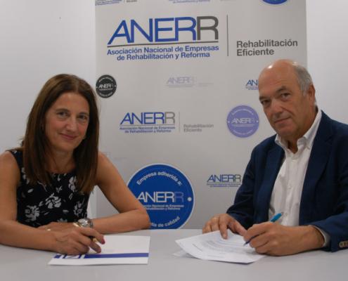 ANERR firma un acuerdo para facilitar el acceso a la financiación de obras de reforma y rehabilitación