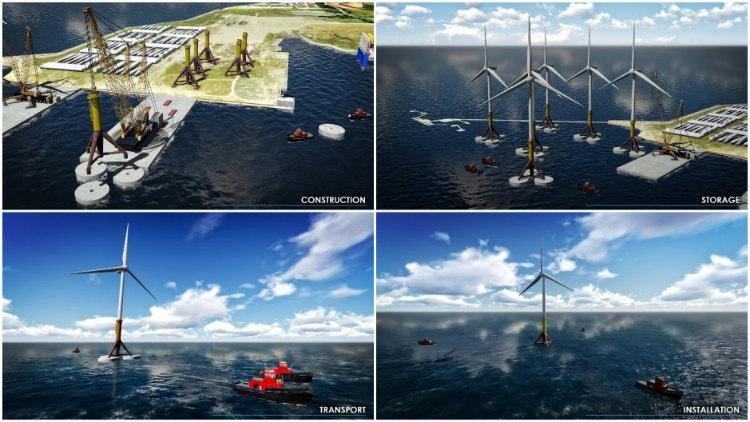Gravi3: el desarrollo de la energía eólica marina de TYPSA