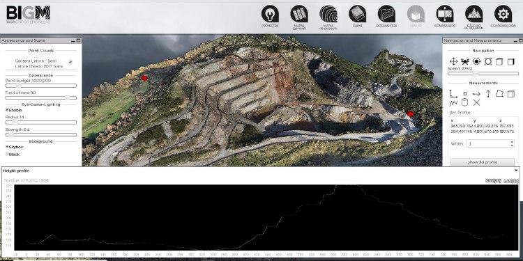 Gestión On Line de minas a cielo abierto
