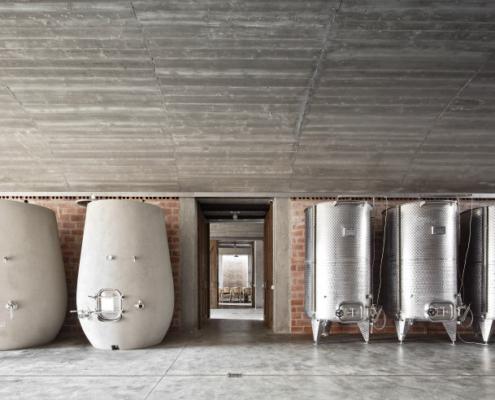 Sistema de drenaje de aguas pluviales y residuales en la industria vinícola