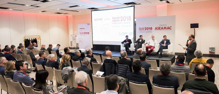 El Foro ASEAMAC 2019 se centrará en la innovación en el alquiler