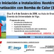 Curso sobre instalaciones de climatización geotérmica con bomba de calor
