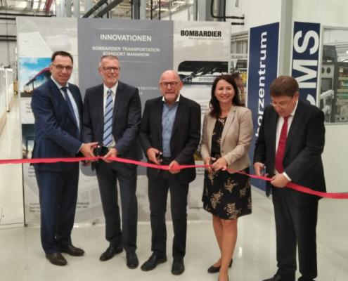 Bombardier inaugura un nuevo laboratorio de alta tecnología ferroviaria en Mannheim