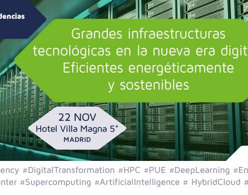 enerTIC organiza un Foro sobre grandes infraestructuras tecnológicas en la nueva era digital