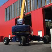 Mayer recibe la primera plataforma Genie SX-105 XC en Alemania