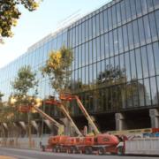 El edificio de la antigua sede de Telefónica en Ríos Rosas, ahora es BREEAM