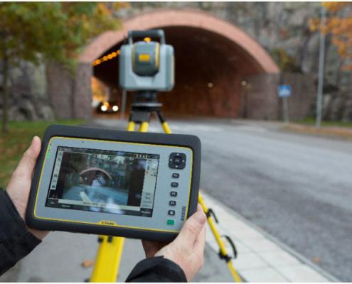 Soluciones geoespaciales en túneles