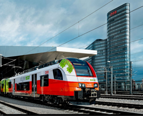 ÖBB y Siemens desarrollan un tren alimentado por baterías