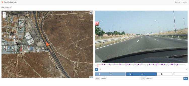 GeoMotionVideo, el nuevo gestor de vídeos georreferenciados