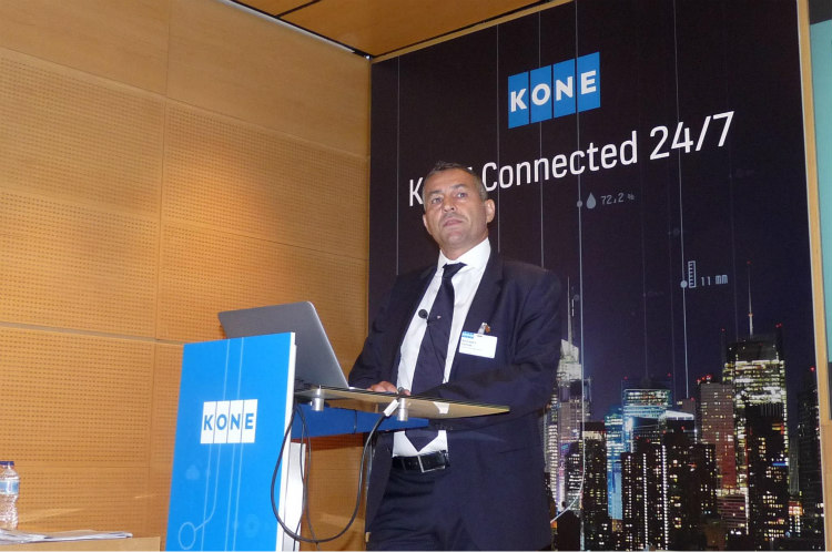 KONE presenta su servicio inteligente KONE Connected 24/7