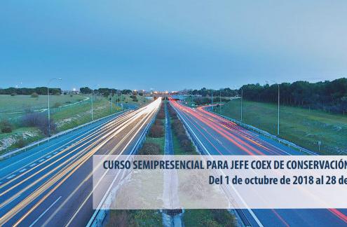 Curso para Jefe Coex de Conservación de Carreteras