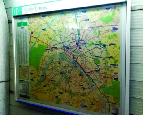 Dentro de la Línea 14 del Metro de París