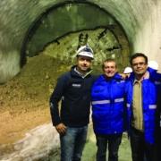 SENER participa en el evento de finalización del túnel Vía derecha del tren de pasajeros Ciudad de México-Toluca