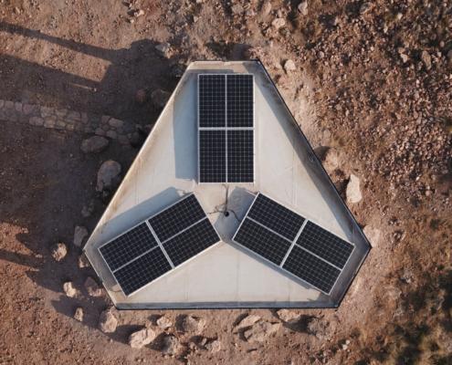 'La casa del desierto': Arquitectura sostenible en Granada